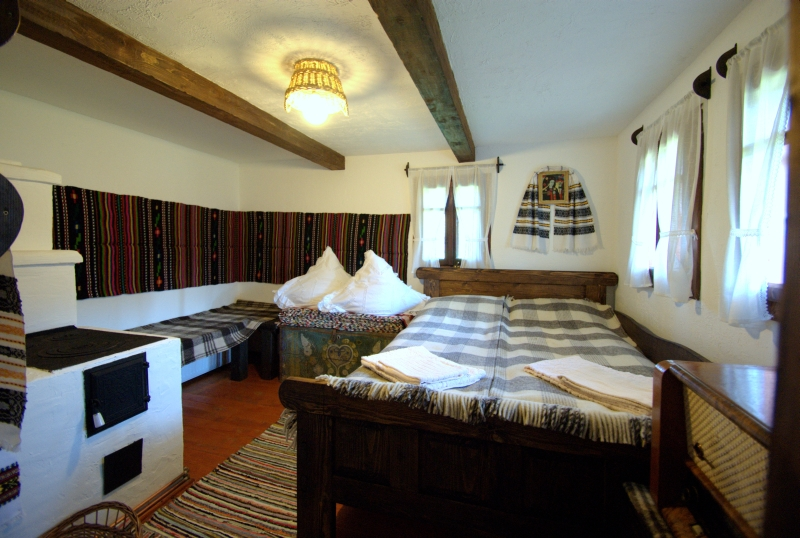 Camera cu pat dublu Casa Elisabeta - LA ROATA, Gura humorului, Bucovina